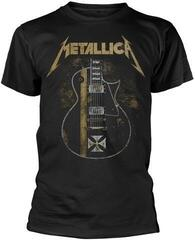 Metallica Hetfield Iron Cross Črna
