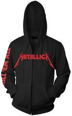 Metallica Kill Em All Hooded Sweatshirt Zip Black