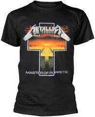 Metallica Master Of Puppets Cross T-Shirt Black