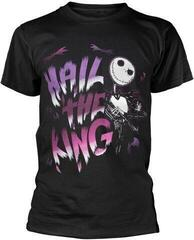 The Nightmare Before Christmas Hail The King T-Shirt Black