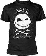 The Nightmare Before Christmas Jack Face T-Shirt Black