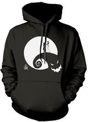 Plastic Head The Nightmare Before Christmas Moon Oogie Boogie Hooded Sweatshirt Black