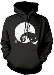 The Nightmare Before Christmas Moon Oogie Boogie Hooded Sweatshirt Black