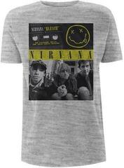 Nirvana Bleach Tape Photo T-Shirt Grey