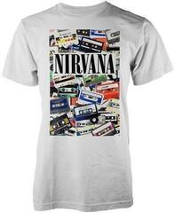 Nirvana Cassettes T-Shirt White