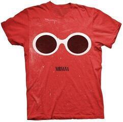 Nirvana Red Sunglasses T-Shirt Red