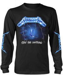 Metallica Ride The Lightning Long Sleeve Shirt Black