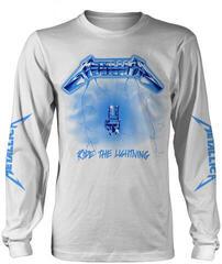 Metallica Ride The Lightning Long Sleeve Shirt White