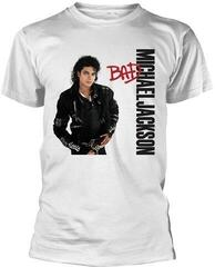 Michael Jackson Bad White T-Shirt S