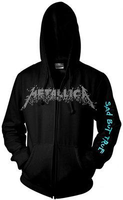 Metallica Sad But True Hooded Sweatshirt Zip M