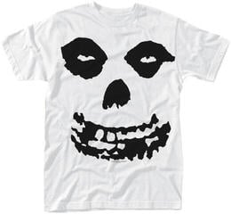 Misfits All Over Skull T-Shirt White