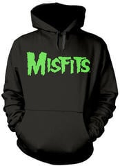 Misfits Glow Jurek Skull Hooded Sweatshirt Black