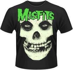Misfits Glow Jurek Skull T-Shirt Black