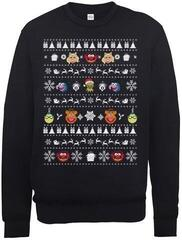 The Muppets Christmas Crew Neck Sweater Black