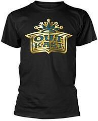 Outkast Gold Logo T-Shirt Black
