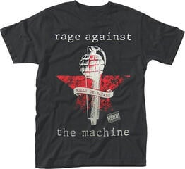 Rage Against The Machine Bulls On Parade Mic T-Shirt Black