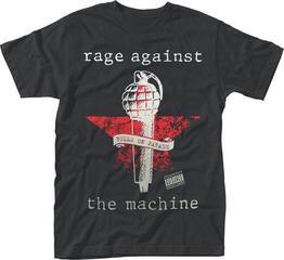 Rage Against The Machine Bulls On Parade Mic T-Shirt Black