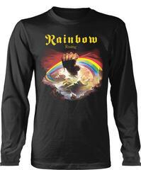 Rainbow Rising Long Sleeve Shirt Black