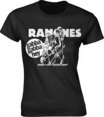 Ramones Gabba Gabba Hey Cartoon Womens T-Shirt S