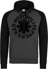 Plastic Head Red Hot Chili Peppers Black Asterisk Hooded Sweatshirt Black/Grey