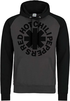 Red Hot Chili Peppers Black Asterisk Hooded Sweatshirt XXL
