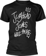 Riverdale Jughead Wuz Here T-Shirt Black