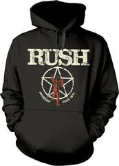 Rush American Tour 1977 Hooded Sweatshirt M
