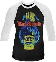 Plan 9 Black Sabbath Head 3/4 Sleeve Baseball Tee Black/White