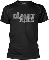 Planet Of The Apes Distress Logo T-Shirt Black
