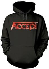 Plastic Head Accept Flying V Hooded Sweatshirt Black