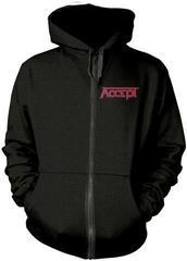 Accept Metal Heart 1 Hooded Sweatshirt Zip Black