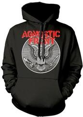 Plastic Head Agnostic Front Against All Eagle Hooded Sweatshirt Black