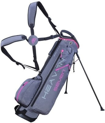 Big max Heaven 7 Charcoal/Fuchsia Stand Bag