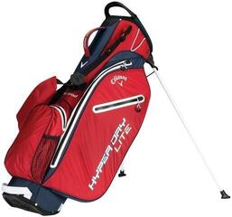 Callaway Hyper Dry Lite Double Strap Red/Navy/White Stand Bag 2019