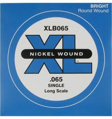 D'Addario XLB065 Single Bass String
