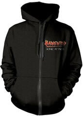 Hawkwind Sonic Attack Hooded Sweatshirt Zip M