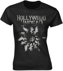 Hollywood Undead Dove Grenade Spiral Womens T-Shirt Black