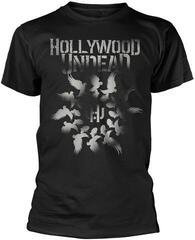 Hollywood Undead Dove Grenade Spiral T-Shirt Black
