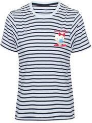 Hello Kitty Striped T-Shirt Striped Black/White