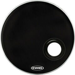 "Evans EMAD Resonant 22"" Fekete Rezonátor (alsó) bőr"