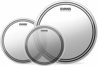 Evans EC2 Frosted Fusion (10'', 12'', 14'') Drumhead Set