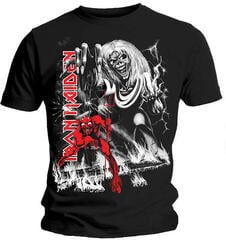 Iron Maiden Unisex Tee Number of the Beast Jumbo (Back Print) Black