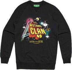 Wu-Tang Clan Unisex Sweatshirt Gods of Rap (Ex Tour/Back Print) Black