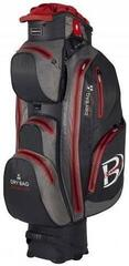 Bennington Sport QO 14 Waterproof Cart Bag Black/Canon Grey/Red