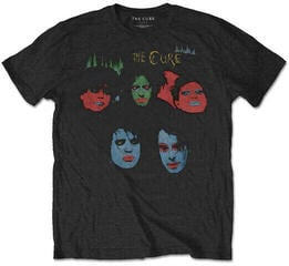 The Cure Unisex Tee In Between Days (Back Print) Black