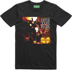 Wu-Tang Clan Unisex Tee Enter The Wu-Tang (Ex Tour/Back Print) Black