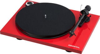 Pro-Ject Essential III Phono OM 10 High Gloss Red