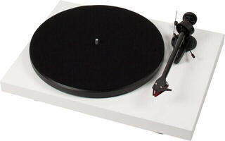 Pro-Ject Debut Carbon (DC) 2M Red High Gloss White
