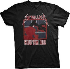 Metallica Unisex Tee Kill 'Em All (Back Print) Black