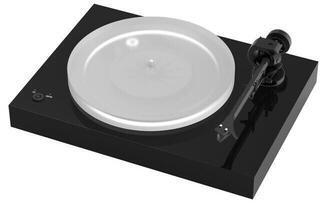 Pro-Ject X2 Ortofon 2M Silver High Gloss Black